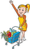 shopping-woman-with-grocery-cart1